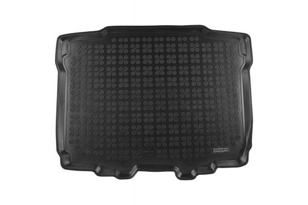 Rubberen kofferbakmat Skoda Yeti met een banden reparatieset in de koffer 2009->