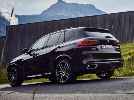 Nyhed! Bilmåtter til BMW X5 xDrive 45e 2019->