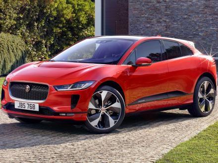 Nieuw! Automatten voor de Jaguar I-Pace 2018.