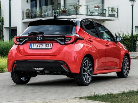 Nyhed! Bilmåtter til Toyota Yaris 2020->